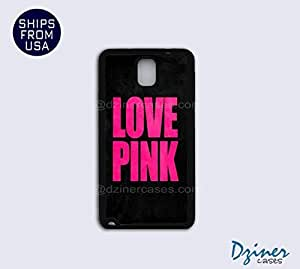 Galaxy Note 3 Case - Love Pink