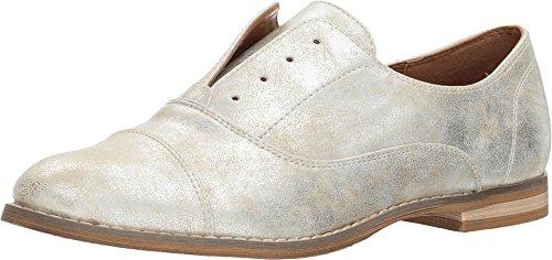 Indigo Rd. Womens Hacksy Almond Toe Oxfords, Silver, Size - Oxford Laceless