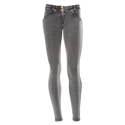 Freddy Gris jaune Dlav pour Denim Skinny Jean Clair Taille gris Basse UP Femme WR Effet Oq6rvxBwO