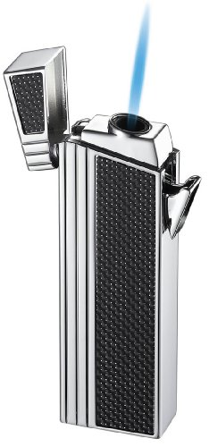 Visol Caseti Chrome Double Designed Compact Torch Flame Lighter by Visol (Image #4)