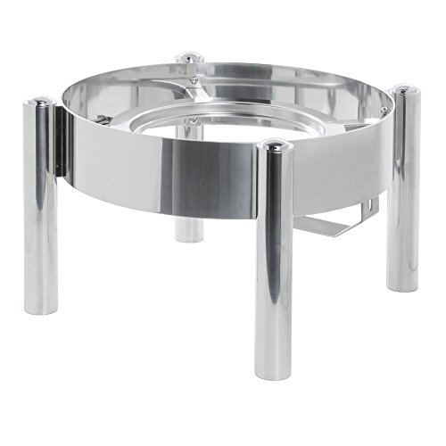 Expressly HUBERT Modern Style Stainless Steel Soup Station Frame - 15 2/5''Dia x 9 1/2''H by Hubert