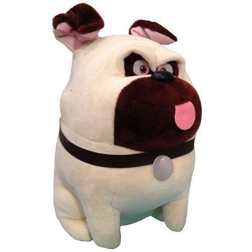TY Beanie Baby - MEL the Pug Dog (Secret Life of Pets) -MWMTs Stuffed Animal Tot PRS