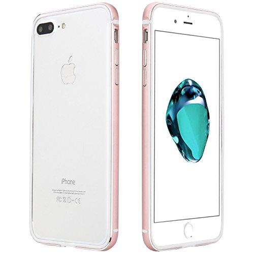 EnGive Bumper Case iPhone 7 Plus Hülle (5.5 Zoll) Schutzhülle Protection Rahmen (iPhone 7 Plus, Rose Gold)