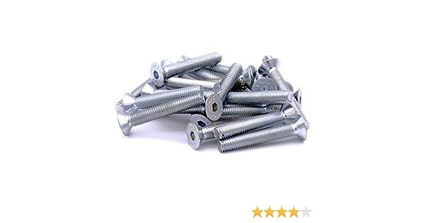 8/mm /acero hexagonal Tornillo avellanado tornillos/ M8/x 35/mm Pack de 20