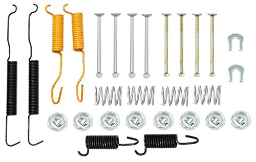 ACDelco 18K1600 Professional Front Drum Brake Hardware Kit with Springs, Pins, Retainers, and Washers