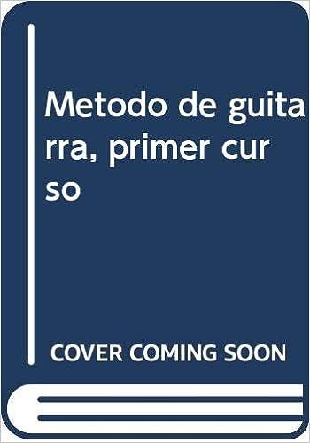 Método de guitarra, primer curso: Amazon.es: Rodrigo Bravo, José ...