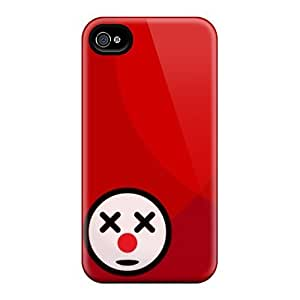 High Quality Clown Case For Iphone 4/4s / Perfect Case