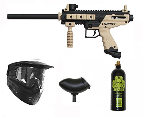 Tippmann Cronus Paintball Marker Gun -Basic Edition- Tan Ext