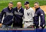 2014 Topps Stadium Club #18 Core Four Baseball Card - Derek Jeter, Jorge Posada, Mariano Rivera, and Andy Pettitte