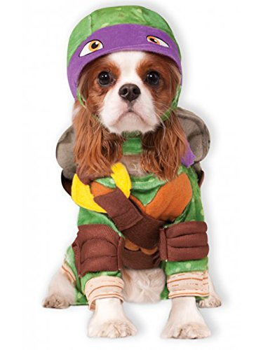 Rubie's Teenage Mutant Ninja Turtles Donatello Pet Costume, Medium ()