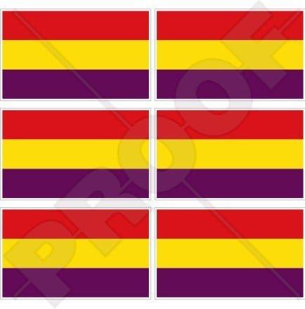 Bandera de España Civil 2 nd República Española 40 mm (1,6
