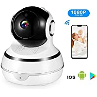 LETING Wireless Home Surveillance IP 1080P Home Security Camera