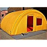 Amazon.com: Túnel hinchable para camping con cúpula ...