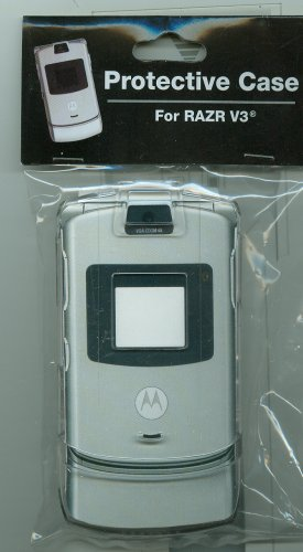 Motorola Razr V3 Hard Case Protector [Clear] [Wireless Phone Accessory]