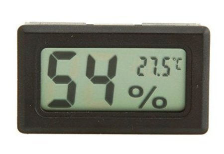 Hikwi Mini Digital LCD Thermometer Temperature Indoor Humidi
