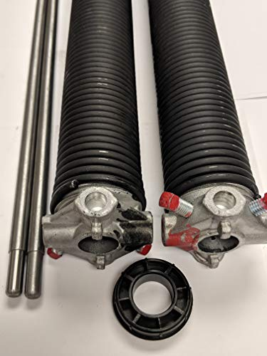 "Pair of 225 X 2"" X 22"" - 36"" Garage Door Torsion Springs with Winding Bars (24)"