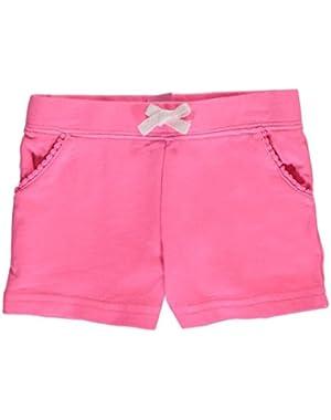 Baby Girls' Drawstring Shorts