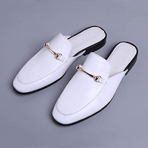 Uomo Estate Light Leather Youth Tow White Trend Moda Confortevole vRRqA5