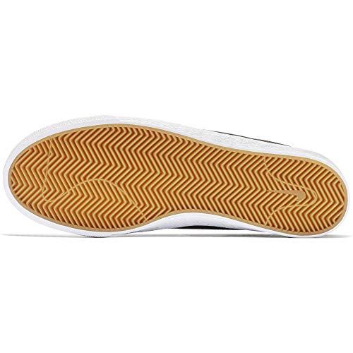 001 Basses Sneakers white Light Noir black Zoom gum Brown Homme Sb Bruin Nike wI7fOI