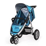 Natineo - Silla de paseo 3 ruedas CITEO - Azul - Disponible en azul y rojo