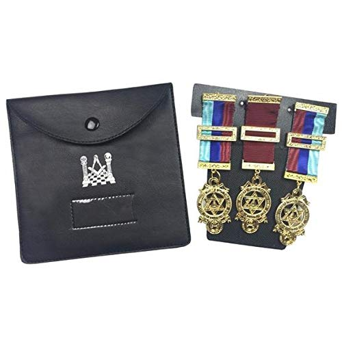 (Zest4Canada Quality Masonic Regalia Pocket Jewel Holder/Wallet Masonic Carry case -)