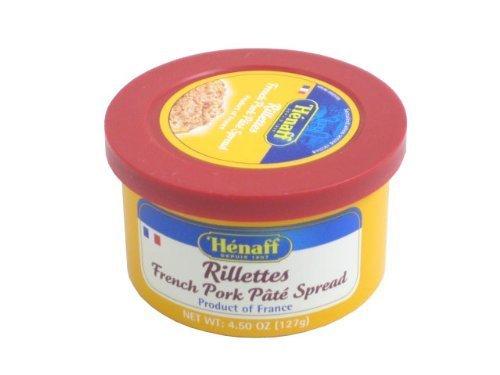 Pork French (Henaff French Pork Rillettes - Traditional Recipe, 127 grams by Henaff)