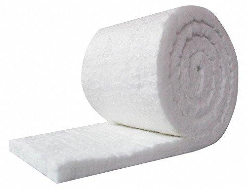 - UniTherm Ceramic Fiber Insulation Blanket Roll, (8# Density, 2300°F)(1