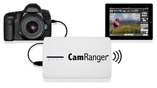 (CamRanger Wireless Nikon and Canon DSLR Remote from iPad, iPhone, iPod Touch, Android, and Mac & Windows Computers)
