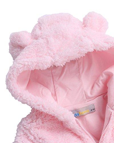9ef300f95480 Kidsform Baby Girls Boys Fleece Hoodie Jacket Coat Cloak Winter Warm ...