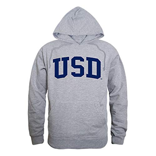 - University of San Diego Toreros Game Day Hoodie Sweatshirt Heather Grey Medium