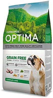 Cotecnica Optima Grain Free Lamb Alimento para Perros - 14000 gr