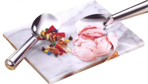 Win Crative Home's Chill-it Ice Cream Set with Marble Board 9-Inch by 11-Inch and Two Ice Cream Spades discount