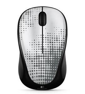 Logitech Wireless Mouse M317 Pewter 910-004146 by Logitech