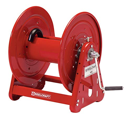 Reelcraft CA32106 M Heavy Duty Hand Crank Hose Reel, 100' Hose Not Included by Reelcraft