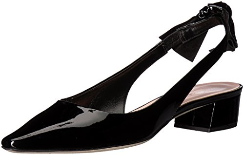 Kate Spade New York Women's Lucia Heeled Sandal, Black Patent, 6.5 Medium US by Kate Spade New York