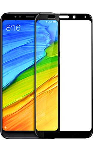 Screen Mate HP ATG MI NOTE5 BK Tempered Glass for Redmi Note 5  Clear