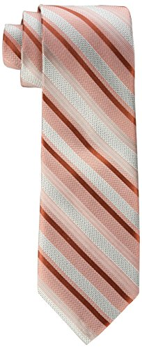 Calvin Klein Men's Pearlized Stripe Tie