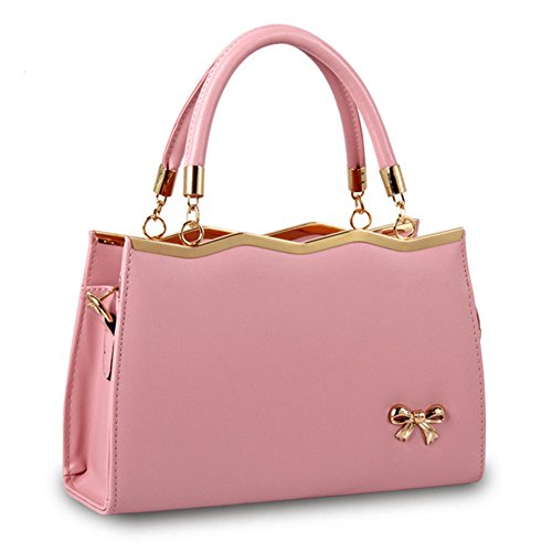 Handle Message Pink organized Boutique Handbags Tote Womens Top Bag Hobo Medium wrxHHEpYnq