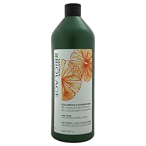 Matrix Biolage Cleansing Conditioner for Fine Hair, 33.8 Ounce (Matrix Biolage Conditioning)