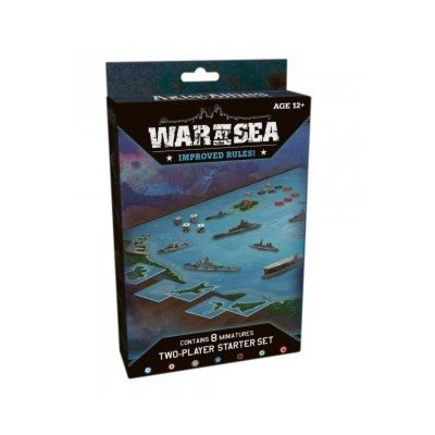 Axis and Allies Miniatures War at Sea Starter Game Set (Miniatures Axis And Allies)