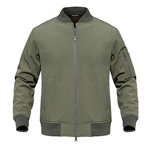 Amazon.com: Waterproof Soft Shell Tactical MA1 Men Winter Military Camouflage Pilot Jacket: Clothing