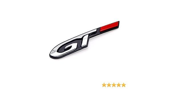 HIGH FLYING para Peugeot 108 208 308 508 2008 3008 5008 2017 2018 GT Emblemas 1 Piezas el plastico: Amazon.es: Coche y moto