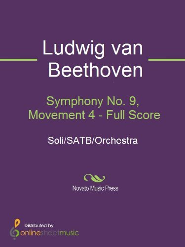Symphony No. 9, Movement 4 - Full Score