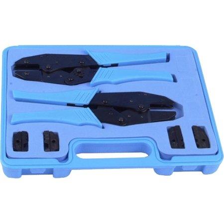 Rf Industries Crimp Tool Kit  2 Universal Frames   2 Die Sets