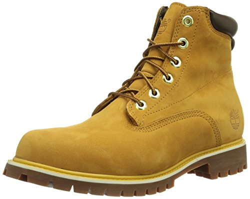 Timberland 6 In Basic_6 in Basic Alburn Boot, Herren Halbschaft Stiefel, Braun (Wheat Nubuck), 44.5 EU (10 Herren UK)