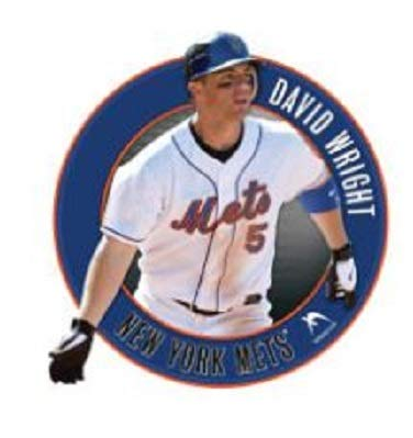 David Wright Wall Graphic - FATHEAD David Wright New York Mets Official MLB Vinyl Wall Graphic 18