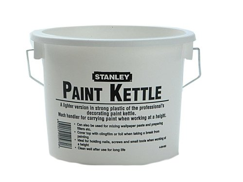 Stanley Plastic Paint Kettle 2.5Litre  4 29 932 STRKKP00 Decorating Tools Home and Leisure Items Paint Brushes - Pads - Rollers and Paint Stencils Paint Kettles Stirrers and Can Openers