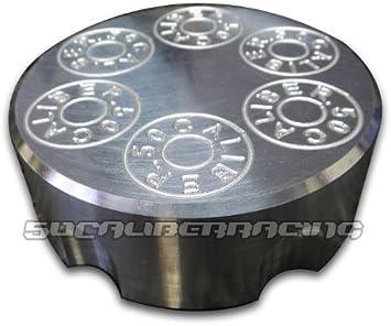 All American Star Billet Aluminum Gas Cap For Polaris Scrambler XP 1000