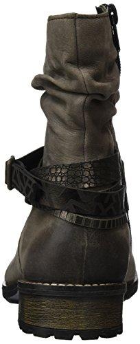 Femme Bisam Altsilber Remonte R3354 Antik Motardes Gris Bronze Bottes 25 qZt6ZX