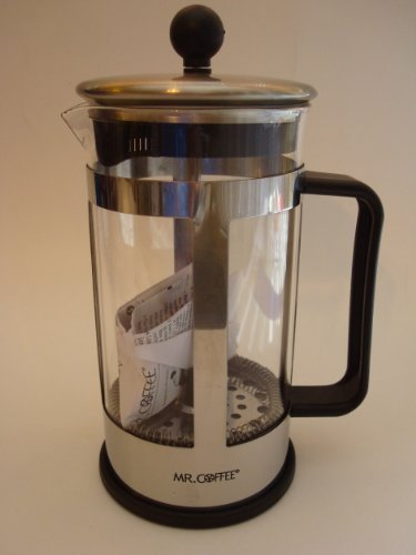 Mr. Coffee 1.2 Quart (1.1 Liter) french Coffee Press Grate Filter